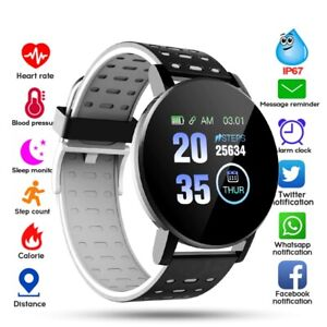 Smart Watch Men & women Blood Pressure Smartwatch  Sport Tracker