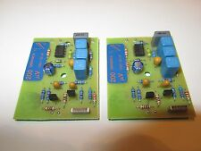 QUAD 66 pre amp MC Moving Coil 2x module boards 200µV 22nF MC stereo phono pair