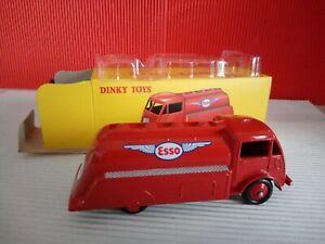 Modellino DIE CAST Dinky Toys Ford Citerne Esso 25 U Rosso Atlas 1/43 Nuovo