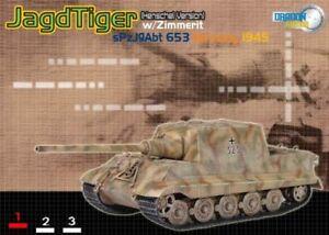Dragon Armor 60109 Jagdtiger Henschel Production w/Zimmerit, s.Pz.Jg.Abt.653, Ge