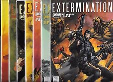 EXTERMINATION #1-#8 SET WITH 6 EXTRA VARIANT COVERS (NM-) BOOM! COMICS