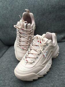 Fila Disruptor low. Sneaker Rose, Gr39 1/2, neuwertig