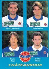n°365 VIGNETTE PANINI CHAMPIONNAT DE FRANCE 1996 4 joueurs CHATEAUROUX