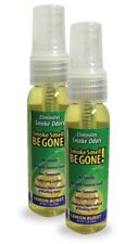 Smoke Smell Be-Gone Spray Odors Natural Eliminator for Home Office Car 2pk