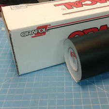 "Matte Black Oracal 651 (1) Roll 24"" X 30' Sign Cutting Vinyl"