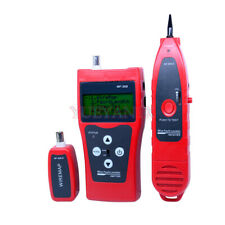 Network Monitoring Cable Tester Lcd Wire Fault Locator Lan Network Coacial Bnc