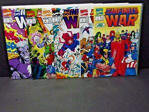 Marvel Infinity War #1-6 Warlock Wolverine Complete High Grade Set Lot