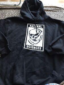 Mens Natural Sciences Hoodie Size Medium BNWOT KP640