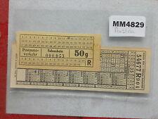 M4829 Austria. Vienna etc. Old. 2 Various Bus/Tram Ticket/s