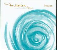 Prayan - The Invitation Songs Inspired By Rumi Digipack Cd Sigillato
