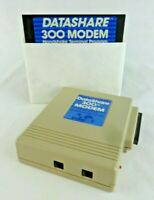 Datashare 300 Modem & Software Commodore 64 / 128 Untested Parts or Repair