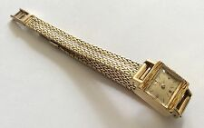 Stunning Ladies Immaculate Vintage Heavy Solid ( All 18ct Gold ) Ebel Wristwatch