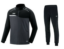 JAKO Trainingsanzug Jogginganzug Competition schwarz/grau S - 4XL Sportanzug NEU