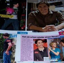 Justin Long 24 pc German Clippings Collection Full Pages