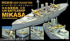 LionRoar PE details 1/350 IJN Battleship Mikasa for Hasagawa (New Tools)