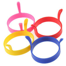 Kitchen Silicone Fried Fry Frier Oven Poacher Pancake Egg Poach Ring Mould Fe