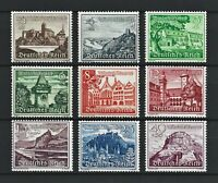 DR Nazi WWII Germany WW2 MNH Stamps Hitler's Castle Tower Church Landscapes War