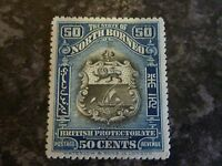 NORTH BORNEO POSTAGE STAMP SG179 50 CENTS MOUNTED-MINT