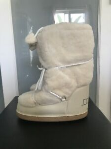 Designer's Snow boots MALO white