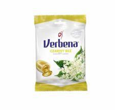 VERBENA ziołowe cukierki CZARNY BEZ vit.C odporność kaszel przeziębienie 60g