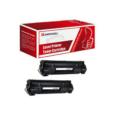 CB436A MICR 2Pack Compatible Toner For HP LaserJet P1505 P1505n M1522n