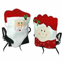 Mr. and Mrs. Santa Claus Chair or Pillow Covers