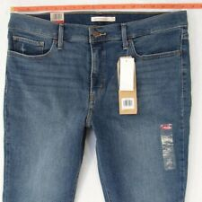 NEW Womens Levis 315 SHAPING BOOTCUT Stretch Blue Jeans W36 L32 BNWT Size 16