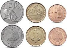 SOUTH SUDAN 2015 ANIMALS set of 3 coins UNC #S11
