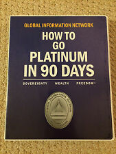 How To Go Platinum In 90 Days Global Information Network Kevin Trudeau