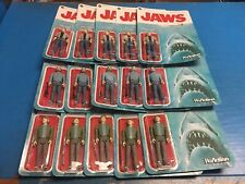 Funko Reaction JAWS FIGURE SET BRODY QUINT HOOPER Sealed Mint New Carded ONE SET