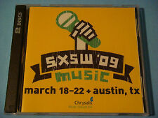 2x CD: SXSW 2009 ~ 50 Songs: Andrew Bird,Boat People,Pendulum,Manchester Orch +