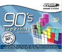 Cdg-Zoom 90's Karaoke Superhits 3 Disc Pack
