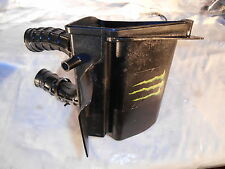 1985 85 HONDA XR200 AIR INTAKE BOX WITH FILTER ELEMENT + BOOTS XL XR 200 250