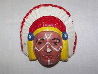 VINTAGE BSA BOY SCOUTS OF AMERICA  JAMBOREE  INDIAN  SLIDE  NECKERCHIEF HOLDER