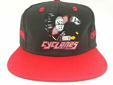 Cincinnati Cyclones Hat Hockey Black/Red Vintage Snapback Flatbill Hat,Cap