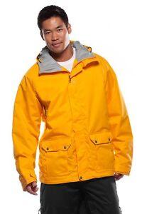 Men's Oakley Blasted Past Ski Snowboard Snow Winter Jacket Bright Orange Size XL