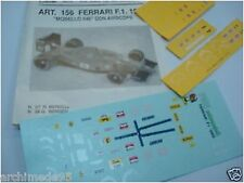 FERRARI F1 1989 N.27-28 MANSEL-BERGER DECALS 1/43