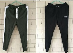 New Lonsdale Mens Track Pants Jogger Boxing Trousers Trackies Sweat Pants XS-XXL