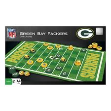 Green Bay Packers NFL Checkers Set - New Unopened Box