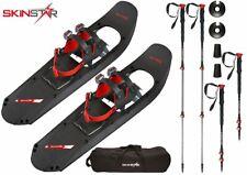 SKINSTAR Schneeschuh 29 INCH Schneeschuhwandern bis 130 kg mit Tourenski Stock