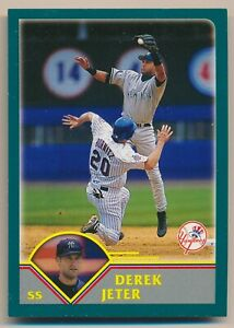 2003 Derek Jeter Topps Kanebo Japanese Baseball Card #5 NY New York Yankees