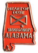 Alabama The Heart of Dixie State Souvenir Fridge Magnet