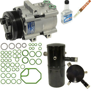 New A/C Compressor and Component Kit 1050333 - 4L3Z19703AB Grand Marquis Town Ca