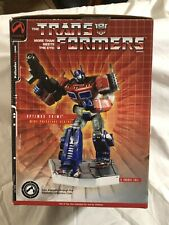 Palisades Transformers OptimusPrime Polystone Mini Statue