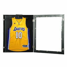 "35"" Hockey Jersey Display Case Frame Shadow Box Football Baseball Black"