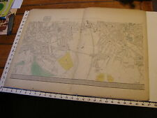 Bacon's London 1880's map #12  Peckham Rye Common, Debtford, Peckham