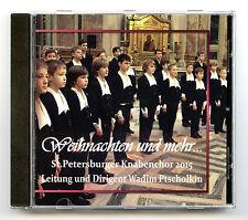 St. Petersburg Boychoir 2015 - Weihnachten und mehr [CD new]
