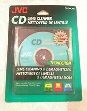 JVC CD Lens Cleaner Thunderon Lens Cleaning & Demagnetizes CL-CDLAU 50 times