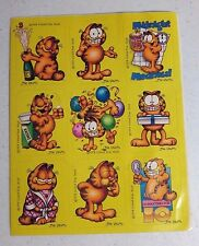 vintage garfield stickers
