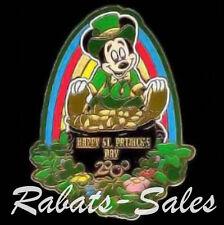 St. Patrick's Day - Mickey Leprechaun Shamrocks Pin Walt Disney World Le